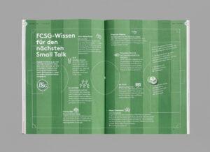 612 Zufall, S. 46-47, FC St. Gallen Wissen, Das Guide-Magazin von St. Gallen Bodensee Tourismus, Ausgabe 02, produziert von Pur Kommunikation